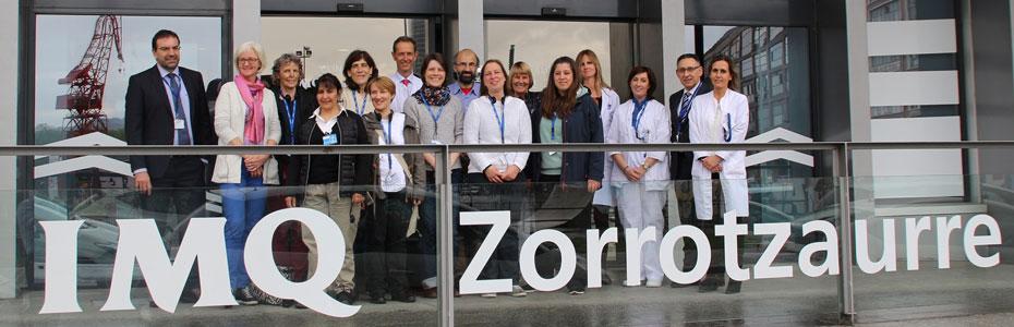 Profesoras de enfermer a alemanas visitan la cl nica imq - Hospital imq zorrotzaurre ...